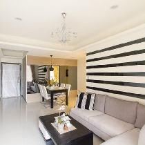 【上海实创装饰】110m²木色时尚三居-北欧宜家风格设计