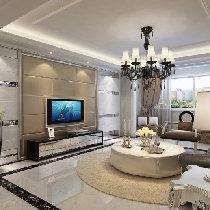 现代时尚简约欧式三居室