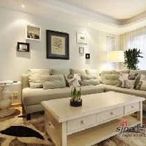 120平美式休闲混搭风情设计 80后文艺夫妻的家居秀