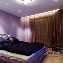 紫色系卧室