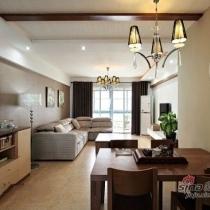小夫妻7万装115平简约家 打造最舒适空间