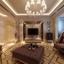 150平中海城欧式风格