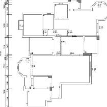 原始户型结构图