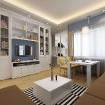 简欧的电视柜,清新简约,时尚潮流又不失实用。