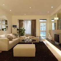 鹏欣一品漫城120平四居室现代简约风格装修设计