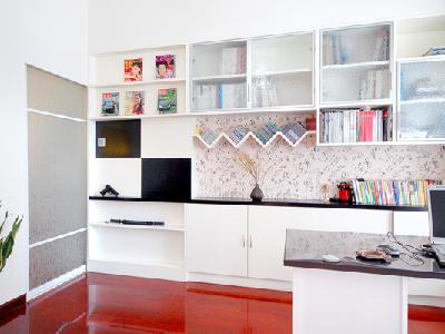 融科东南海|99平现代简约风格三房两厅|装修效果图-长沙实创装饰