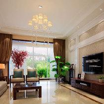 轻巧浪漫32万整体家装装修210平米境界家园