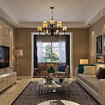 6万打造御品星城92平简美风格温馨之家
