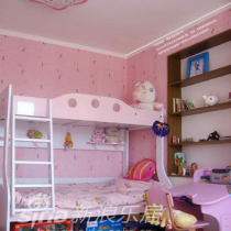 儿童房主要以粉色为主