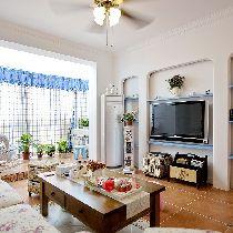 纯美地中海风格复式家