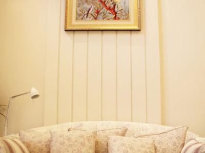 124平3室1厅暖暖简欧 田园风公主卧室