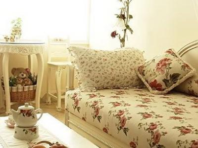 沙发细节。