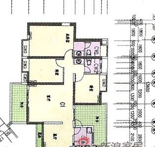 发一张户型图!房子是125平方的三房两厅