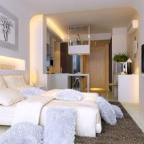 单身公寓现代简约风格效果