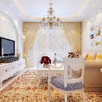 小家也精彩 梅兰居65平一居室田园风格设计
