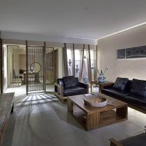9万打造130平新中式家 尽显雅致淡雅氛围