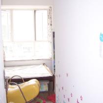 次卧,给宝宝布置的,家里目前没书房,顺便占用一下他的空间
