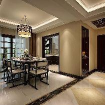 白桦林间153平米-新中式风格
