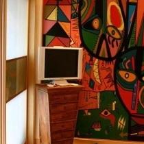 我的梦我的家 秋日色彩浓郁的两室一厅(一)