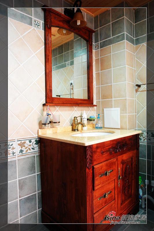 上镜率很高的浴室柜
