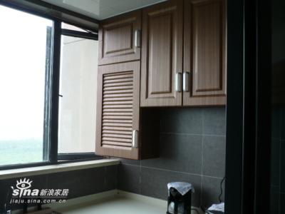 阳台改的厨房1