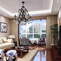 古韵与现代的融合,新中式风格四居室