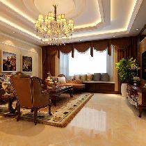 177平大面积四居装修 充满怀古浪漫气息的新古典