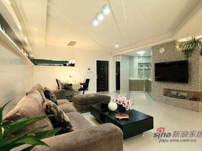 这个是客厅的样子,客厅看上去比较的有个性的