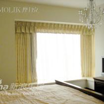 客厅的窗帘我们都用带莎的