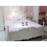 茉莉花香625�|卧室床
