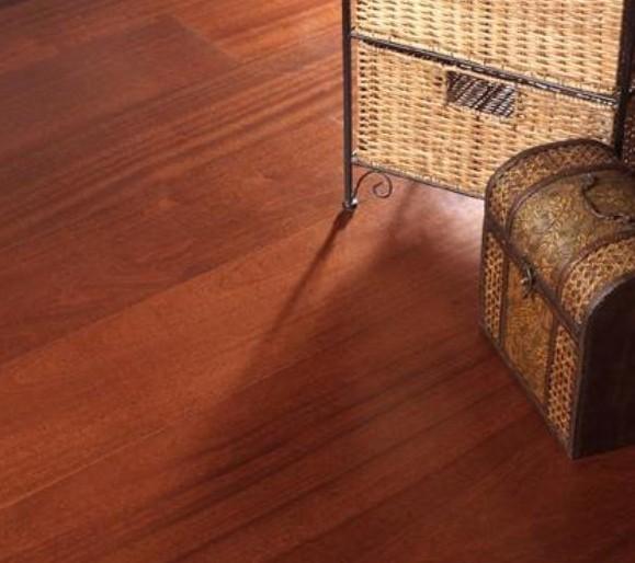 四合实木复合地板-T3系列-筒状非洲楝