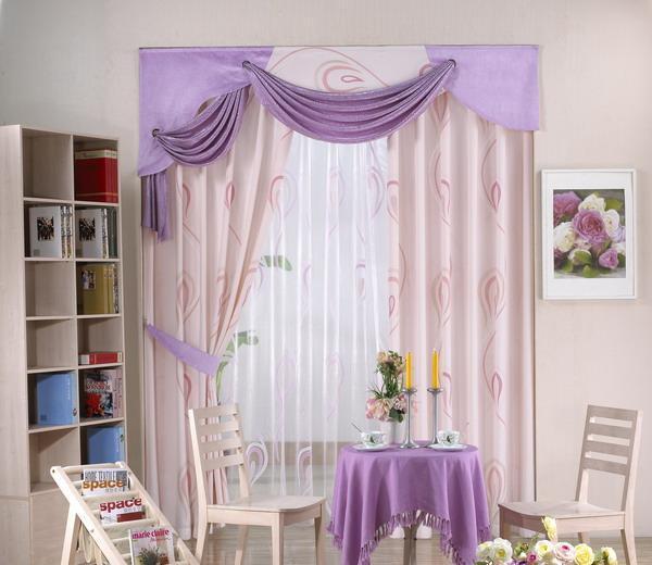布易窗帘现代时尚系列月下细语月下细语