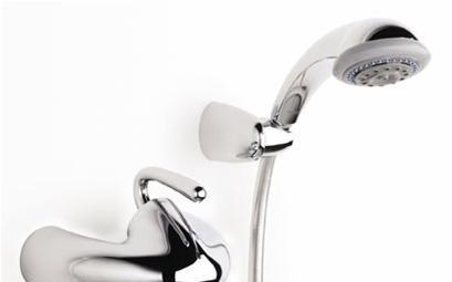 乐家卫浴银影系列挂墙式淋浴龙头5A2040C005A2040C00