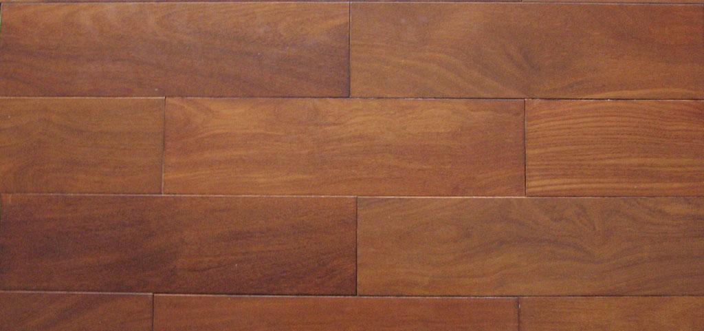 金三鹰实木地板紫檀