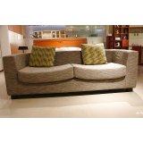 诺捷客厅家具沙发(1930*2350*950mm红樱桃)