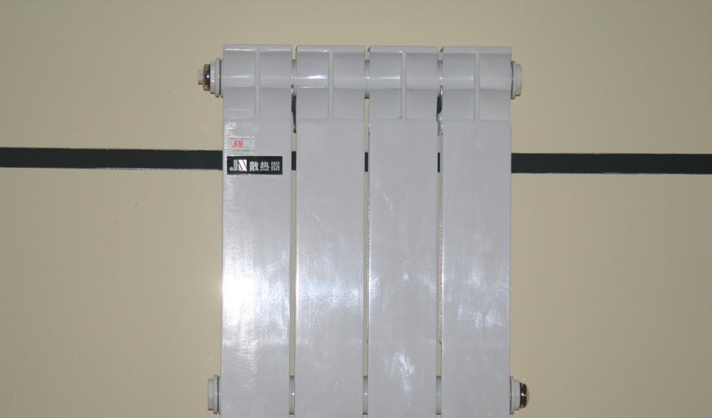 金牛4孔350毫米2散热器