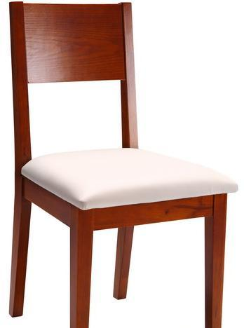 树之语加枫系列CT121餐椅(白色皮)CT121