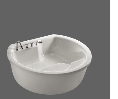 美加华压克力五金件浴缸(水晶白)MJ-1600MJ-1600