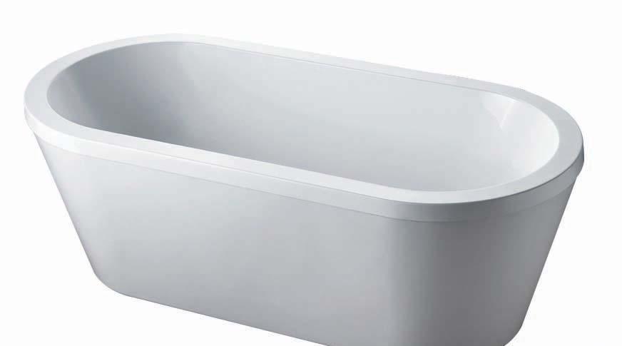 杜菲尼D2709独体压克力浴缸D2709