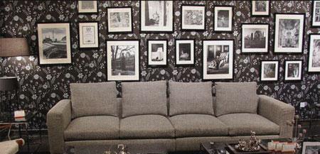 北山家居客厅家具多人沙发1SC0414AD1SC0414AD