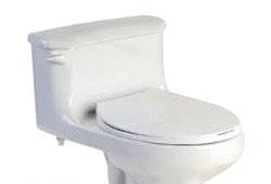 美标汉密尔顿CP-2094节水型加长连体座厕420(白)CP-2094