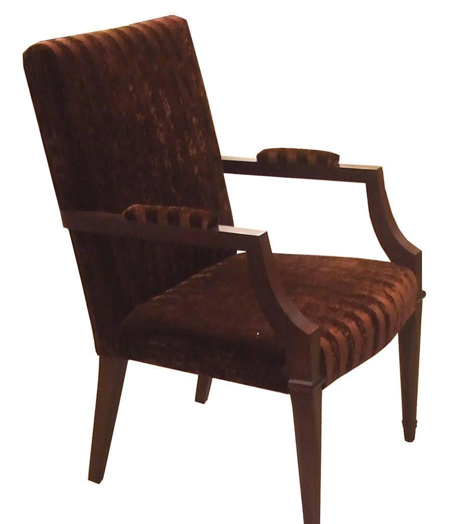 美凯斯客厅家具扶手椅M-C718WM-C718W