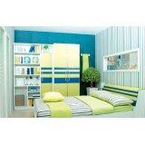 七彩人生整体卧室蓝绿组合Q5-BP232SM
