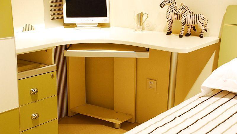 我爱我家儿童家具FG41-J+G+S+Y组合书桌FG41-J+G+S+Y