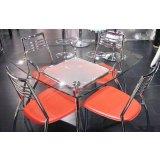 标卓家具-一桌四椅TB0481+CY40