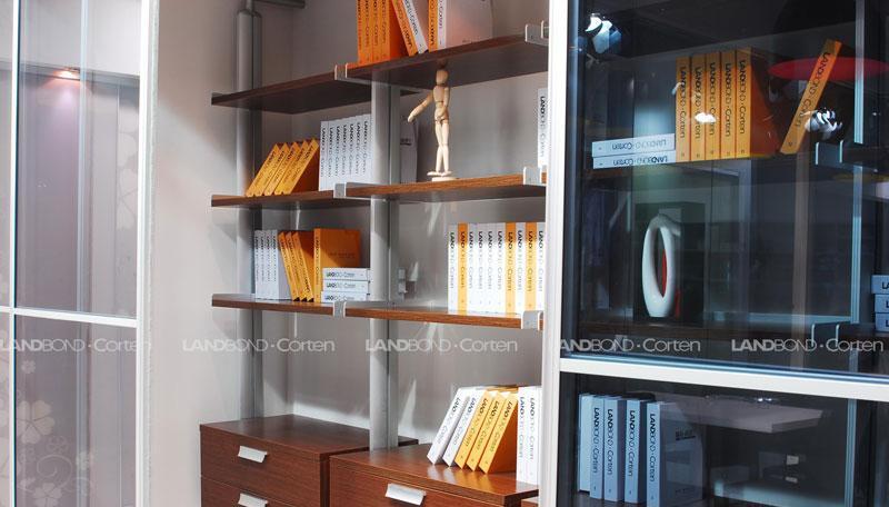 联邦高登书房家具铝合金书柜6铝合金书柜6