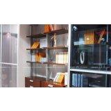 联邦高登书房家具铝合金书柜6