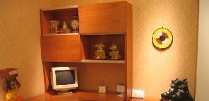 健威书房家具书桌组合套件