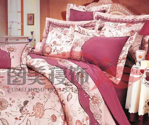 图美贵夫人TA9010床盖十件套