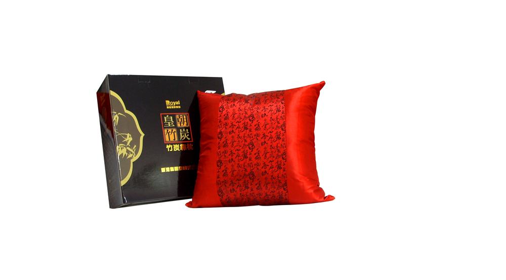 QM01-1竹炭靠枕